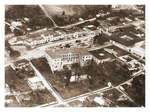 fotografía antigua de la ciudad de Cobán, Alta Verapaz, foto tomada del Facebook de Cobán Travel